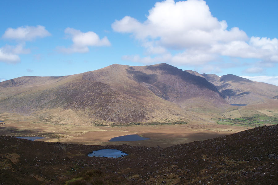 Conor Pass en la península de Dingle