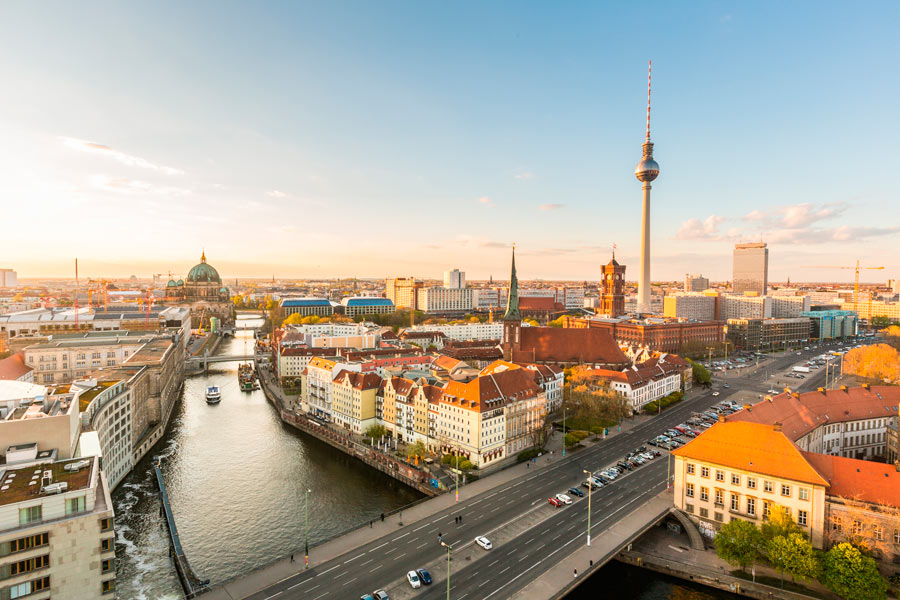 Paysage urbain de Berlin
