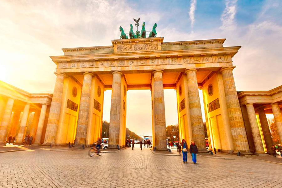 La porte de Brandebourgà Berlin