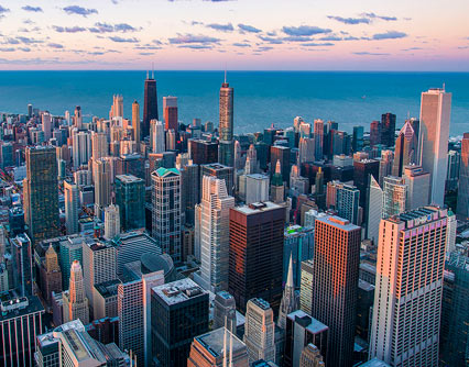 Vuele de Kerry a Chicago
