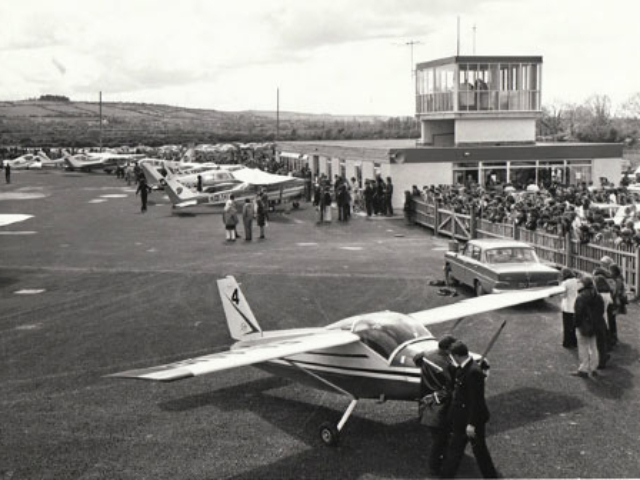 The airport in June 1972.