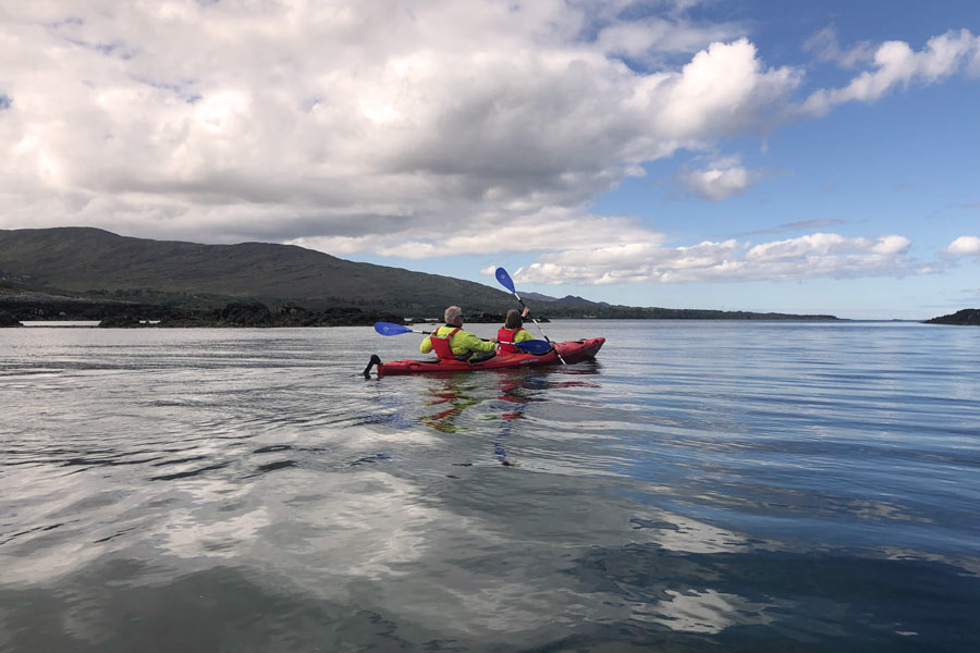 Kayaking Kenmare Bay
