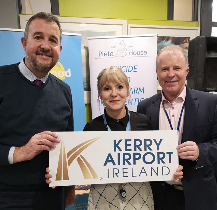 Kerry Airport supports Pieta House