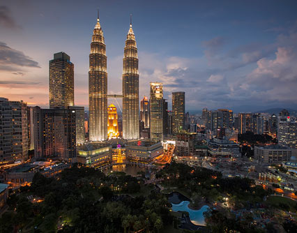 Fliegen Sie von Kerry nach Kuala Lumpur