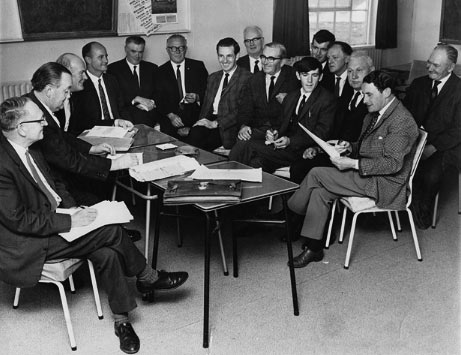 Making plans for Kerry Airport in 1968.