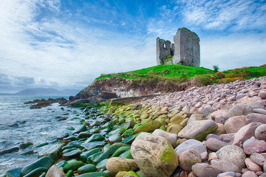 Minard Castle Dingle-Halbinsel
