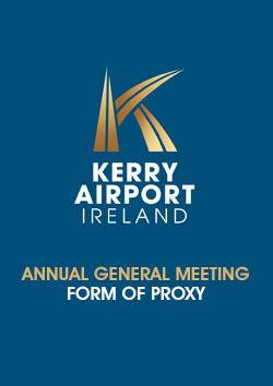 Kerry Airport form of proxy